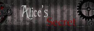 Dawanda Banner Alices Secret by ValerianaSolaris