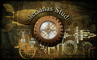 Steampunk Shop Wallpaper by ValerianaSolaris