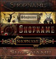Steampunk Banners by ValerianaSolaris