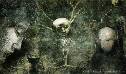 Tribute to Odilon Redon by ValerianaSolaris