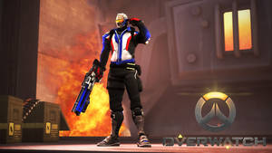 Overwatch - Soldier 76 by Darkness-Ringo