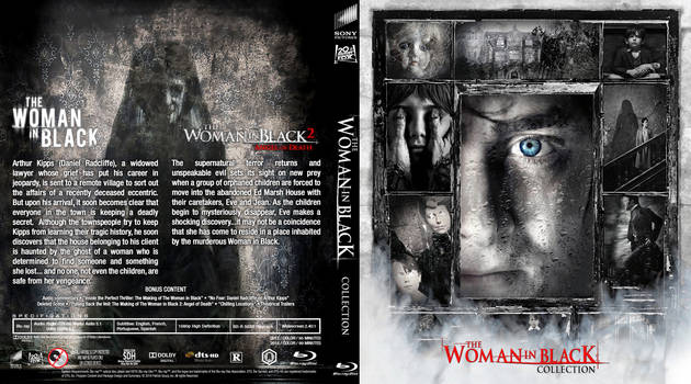 Blu-ray - Woman in Black 1-2 by Morsoth