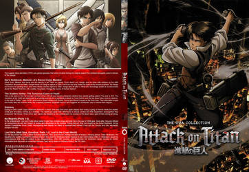 DVD - Attack on Titan - OVA Collection (Slim) by Morsoth