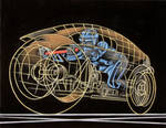 Tron: Light Cycle by BruceWhite