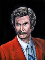 Ron Burgundy by BruceWhite