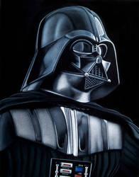 Vader velvet painting by BruceWhite