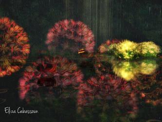 Hydrangeas In Second Life by writerga07