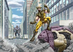 Wolverine by The-nostalgia-runs