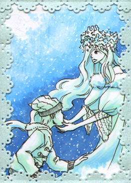ATC  365: 004 Snow Queen by AppleDainty