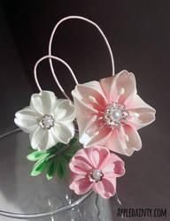 Cherry Blossom Trio I by AppleDainty