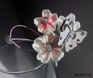 Cherry Blossom Trio III by AppleDainty
