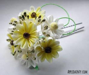 Daisy, Daisy Hair Fork by AppleDainty