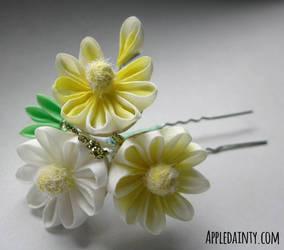 Daisy, Daisy Trio by AppleDainty
