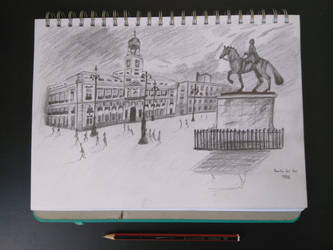 Puerta del Sol by TheMs0kitty