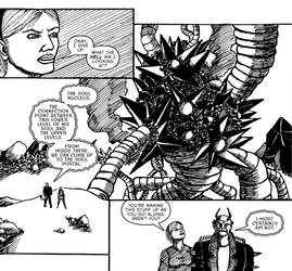 The Devil and The Detective #2 Page 17 Panels by JJ422