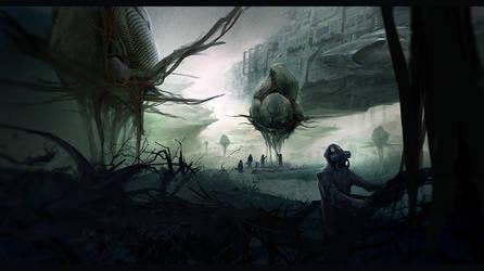Alien World by Lapec