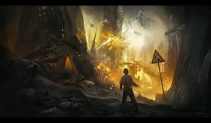 Alien Invasion by Lapec