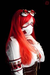 Steampunk Nurse II by LahmatTea