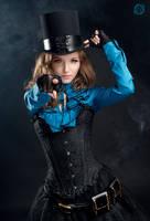 Steampunk victorian girl by LahmatTea