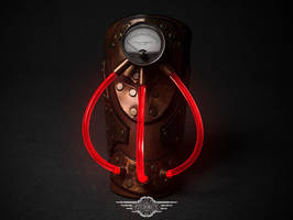 Steampunk bracer Entropius by LahmatTea