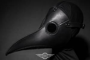 Black plague doctor mask by LahmatTea