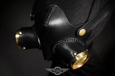 Dreadnought leather mask by LahmatTea