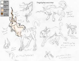 Tragelaphus unicornus by bovidaeloony