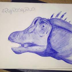 Argyrosaurus superbus by piche2