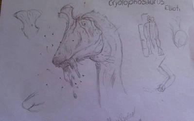 Crylophosaurus ellioti by piche2