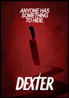 Dexter minimalist poster by Dario1crisafulli