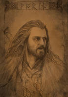 Thorin Oakenshield by Dario1crisafulli