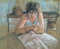 Le petit dejeuner by Greyfurret
