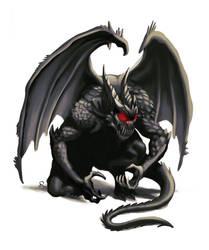 Cornugon (horned devil) by WillDan
