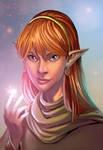 Lodoss elf by WillDan