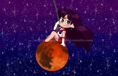 Sailor Mars Wrecking Ball by Mighty-Morphin-Mimi