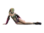 SevenCore Girl Render by aeli9