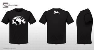 dA T-shirt Jackalope by AngelOfWolves