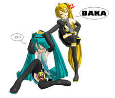 Miku Bashing by VocaloidIchigo