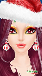 31 Days of Christmas - Day 12 - Makeup by CrystalDarkPinkie