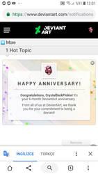 Owo thanks deviantart by CrystalDarkPinkie