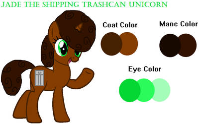 Ponysona Reference (Updated) by JadeDaUnicorn