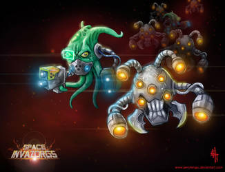 Invaders! by JerryTengu
