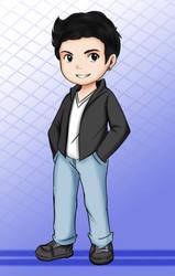 Chibi cool by Yazashy