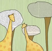 giraffe concentration. by ninathedominatrix