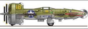 Veeblefitzer Cuddabara P-401A by Jimbowyrick1