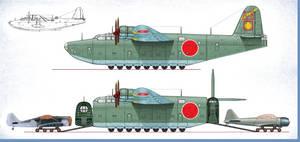 H8K ''Emily'' Special Cargo Transport by Jimbowyrick1