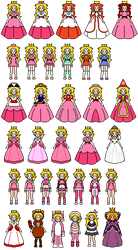 Princess Peach! by SirPeaches