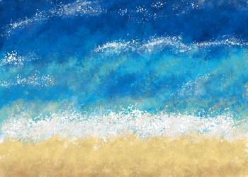 Beach by jabbycat
