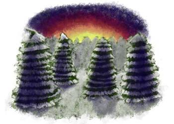 Winter Card by jabbycat