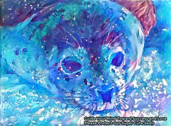 Dream Seal Art Everyday We Lived - 7/25/1998 by MatthewandKatlayn